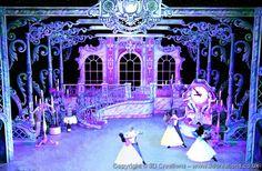 Cinderella Musical, Cinderella Theme, Stage Set Design, Set Design Theatre, Outside Decorations, Backdrop Decorations, Ella Enchanted, Interior Design Renderings, Scenic Design