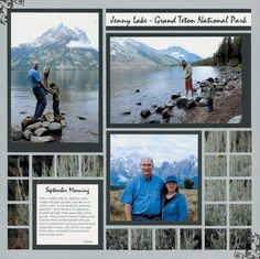 The #1 Tip for Amazing Travel Scrapbook Pages #vacationscrapbook
