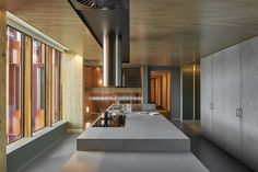 Photo 6 of 7 in The Student Dorms in Australia's Largest Passive House Building Are Surprisingly Swank - Dwell House Plans And More, Passive House, Beautiful Buildings, Concrete Floors, Studio Apartment, Contemporary Architecture, My Dream Home, Building A House, Student