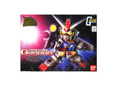 Model kit - Gunpla of Gundam RX-78-2 (Anime BaBy Ver.) from Mobile Suit Gundam. BB scale (Chibi-Grade) model that must assembled (includes all snap-in parts and stickers) made of PVC material by Bandai. Includes detailed assembly instructions.