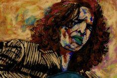 CARMEN LUNA | Saatchi Art Original Paintings, Original Art, Artwork Online, Saatchi Art, Italy, Canvas, Spain, Flamingo, Guitars
