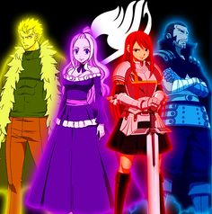 Fairy Tail Guild S-class Mages