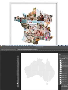 Photo Collage Template, France Photos, Stationery Templates, Photoshop, Art, Art Background, Kunst, Performing Arts, Art Education Resources