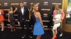 "Nina Agdal & Reid Heidenry ""Entourage"" Los Angeles Premiere"