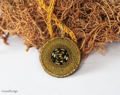 Cyberpunk Steampunk Jewelry Necklace from Copper by gunadesign
