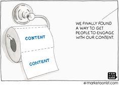 Sobre el sentido y el sinsentido del content marketing Marketing Meme, Marketing En Internet, Marketing Communications, Influencer Marketing, Inbound Marketing, Marketing Digital, Marketing And Advertising, Business Marketing, Content Marketing
