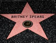 Britney's Hollywood Walk of Fame Star