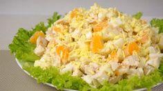 Изумительно вкусный салат с мандаринами и курицей http://jemchyjinka.ru/2017/12/03/izumitelno-vkusnyj-salat-s-mandarinami-i-kuritsej/