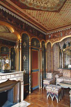 Cabinet turc of Eugéne de Beauharnais, Hôtel de Beauharnais photo Marc Walter