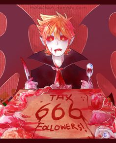 THANKS FOR 666 FOLLOWERS ! I'm so glad guysss The requests are closed, but you still can ask me anything >:-D and Commission is sooooon . So, have a nice day goodbye !