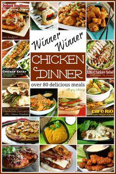Winner Winner Chicken Dinner - Need an idea for dinner tonight? Don't blame us! :) #chicken #chickendinner