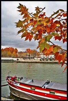 autumn in Paris | Autumn In Paris by asival | Travel