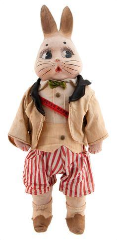 """PETER RABBIT"" doll 1917"