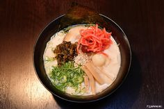 """What do you want? Abura Soba (Noodles without soup)?Ramen (Noodles in soup)? Or the """"NIKU MAX RAMEN"""" which is topped with many slices of meat!!Other than in Akihabara, you can find DARUMANOME in many other hot spots in Tokyo!  http://usingroup.jp/darumanome/ #japankuru #japan #food #ramen #aburasoba #akihabara #japanesenoodles #dairumanome #東京美食 #拉麵 #秋葉原 #油潑乾麵 #豚骨拉麵"""