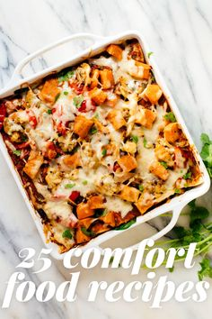 25 Healthy Comfort Food Recipes