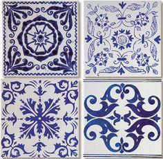 Doce Diferença: Paixão por azul e branco IV