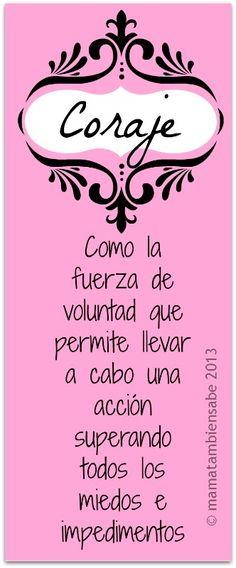 "Para todas las ""mamá coraje"".  (pineado por @PabloCoraje) #Citas #Frases #Quotes"