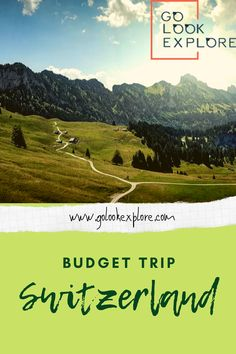Always thought traveling around Switzerland is expensive? Check out some practical Switzerland budget tips and learn how to save money in Switzerland. Switzerland Cities, Visit Switzerland, European Travel Tips, Travel Europe, Travel Destinations, Budget Travel, Europe Budget, Travel Images, Train Travel