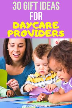 When you leave your child with a daycare provider, showing your appreciation is essential. You'll find this is especially true when the end-of-the-year parties come around or during the holidays. Finding the perfect gift ideas for caregivers can prove challenging. Check out these gift ideas for daycare providers so that, during your next shopping trip, you're not feeling stumped. #daycareproviders #daycare #childcare #familylife #giftsforcaregivers #appreciationgift #appreciationpresent