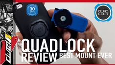 QUAD LOCK REVIEW - BEST MOTORCYCLE PHONE MOUNT