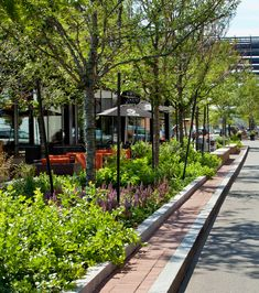 Landscape architects and planners Landscape And Urbanism, Landscape Architecture Design, City Landscape, Urban Landscape, Landscape Architects, Urban Design Diagram, Street Trees, Urban Fabric, Green Street
