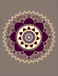 Printable Mandala Art Lotus Flower Mandala Adult by AmoreBeaute