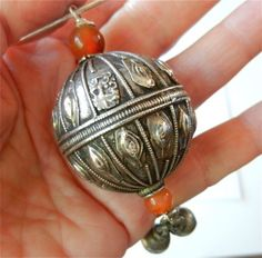 Antique Silver, Bronze & Gemstone Jewelry Styles in Yemen, Turkmenia & Ancient Mongolia: Out of Yemen Bead by Bead, Traditional Jewelry Disa. Pendant Jewelry, Gemstone Jewelry, Beaded Jewelry, Silver Jewelry, Unusual Jewelry, Antique Jewelry, Antique Silver, Renaissance Jewelry, Silver Accessories