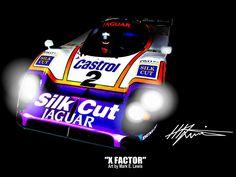 """X FACTOR"" Original Art by Mark E. Lewis"