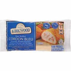 ALDI on Kirkwood Cordon Bleu Stuffed Chicken Breast - 18g carb More