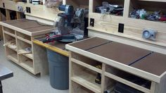 Miter Saw Bench #1: Photos and information about the miter saw bench I'm building. - by ToddinNH @ LumberJocks.com ~ woodworking community