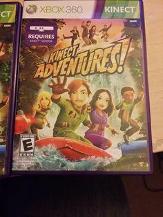 Kinect Adventures - Xbox 360 Kinect Sensor Requires (PAL)