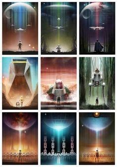 "scifiseries: "" More great Star Wars art by: andyfairhurst.dev... """