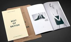 View Marks and Spencer's, Best of British new work by Egelnick and Webb for Branding / design Lookbook Design, Best Of British, New Work, Branding Design, Britain, Editorial, Google Search, Corporate Design, Identity Branding