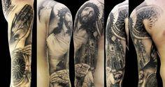 Tatuajes religiosos de jesus, crucifijos y vírgenes | Mundo Tatuajes – Galería de Fotos de Tatuajes para Compartir