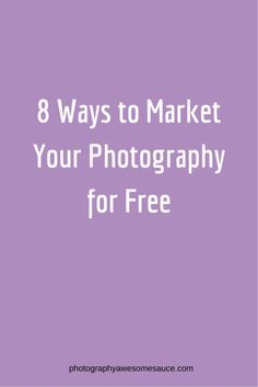 photography marketing, photography tips, free marketing, photography business…