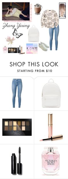 """""""Zhang Yixing (Lay)"""" by eliannaduluc on Polyvore featuring PB 0110, Maybelline, By Terry, Bobbi Brown Cosmetics and Victoria's Secret"""