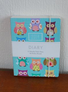 A6 Owl Diary - The English Owl Company