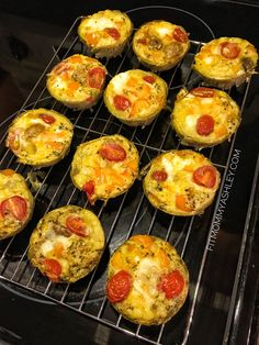 Pre Workout Egg Muffins
