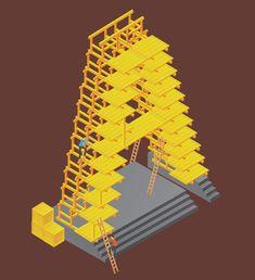 3D Alphabet Architecture: Jing Zhang