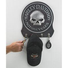 Harley Davidson License Plate Key Rack 5 Hooks Ace Product Management Christmas Gift