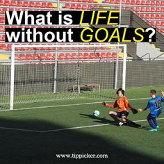 Whether it's #soccer or #life goals are really important.⚽ .......................................................................................... Plan your goals wisely with our predictions plans.  Find prediction packages of your choice at www.tippicker.com ........................................................................................... #SoccerTips #FootballTips #Sports #SoccerLovers #Goals