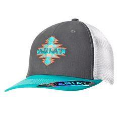 ARIAT SNAPBACK AZTEC TURQ CAP
