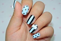 Academy Of Nail Design Luxury 40 Clever Nail Designs Ideas for School Kids Dzine. Academy Of Nail Design Luxury 40 Cleve. Cute Nail Art, Cute Nails, Pretty Nails, Photomontage, Nail Palace, Finger, Nails 2016, Girls Nails, Cute Nail Designs