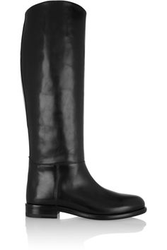 MarniLeather knee boots