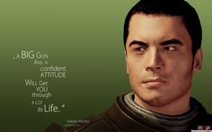 Kaidan—words of wisdom from everyone's favorite L2- Love this guy