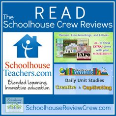 #Homeschool Online Learning brought to you by SchoolhouseTeachers, a division of @The Old Schoolhouse Magazine  #hsreviews