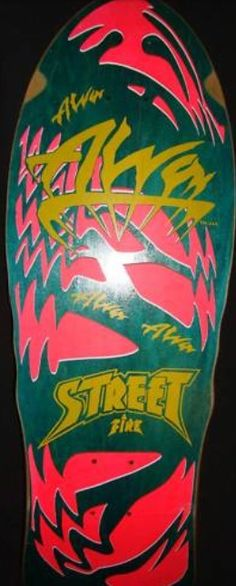 Alva - Street Fire Alva Skateboards, Old School Skateboards, Vintage Skateboards, Skateboard Design, Skateboard Decks, Lacey Baker, Bufoni, Jay Adams, Venice Beach California