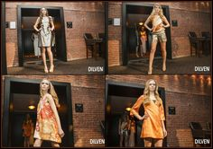 """One of several runway shows we have done at the Liberty Hotel in Boston.  I was into """"tangerine"""" at the time..."""