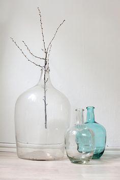 Sostrene Grene glass vases by wooz.dk