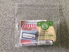 Bagged up Scentsy samples!  I use a sandwich bag to keep the cost down.  See my other pin for the contents.